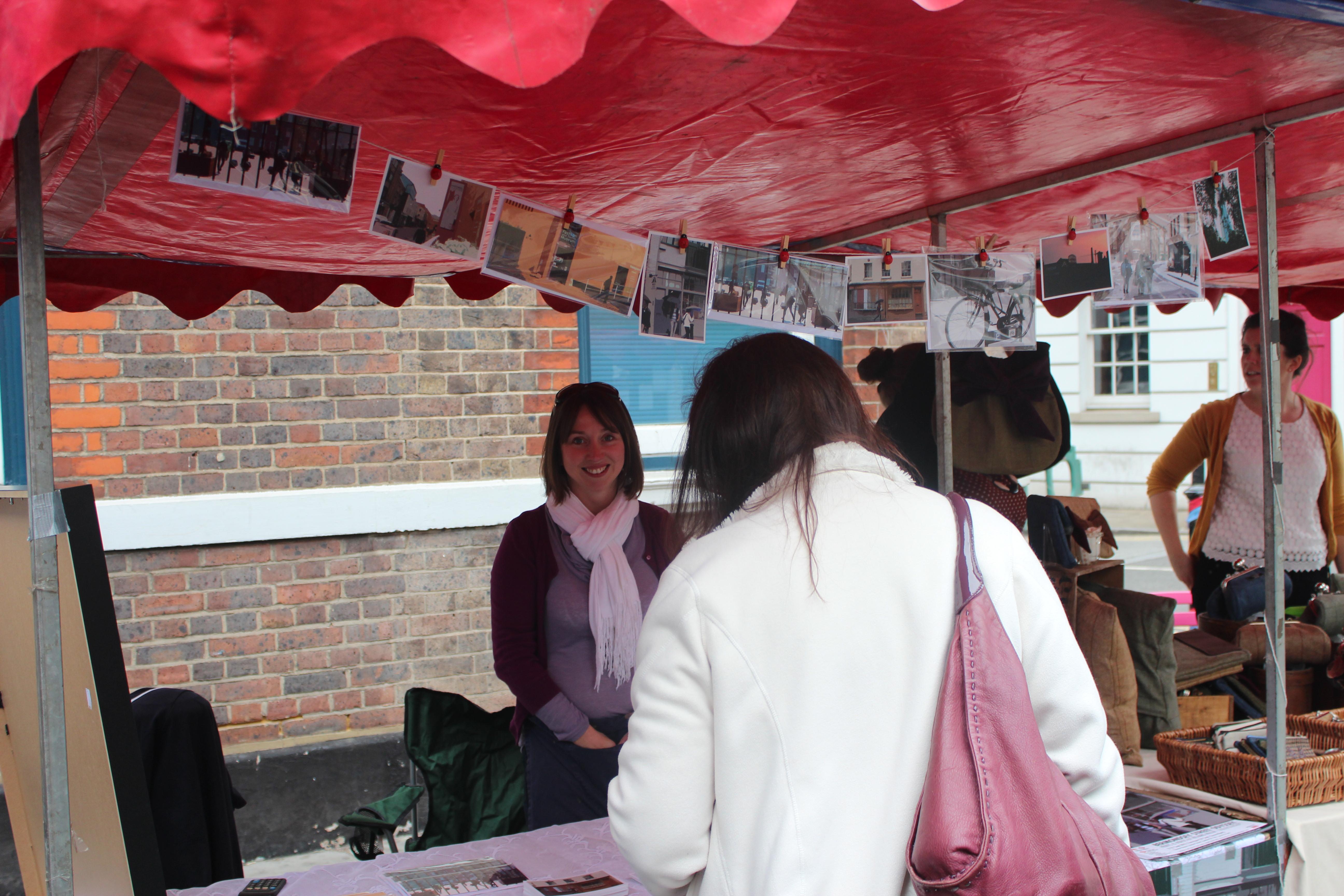 Bermondsey Street Odyssey stall