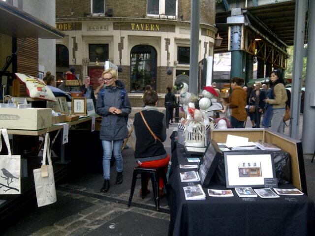 Richard at Borough Market