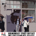 Bermondsey St - The Umbrellas Poster