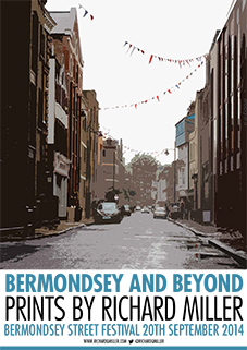 Bermondsey Street Looking South poster
