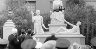 A Charlie Chaplin Statue for the Elephant