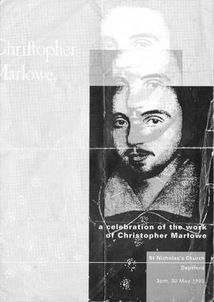 A celebration of Christopher Marlowe