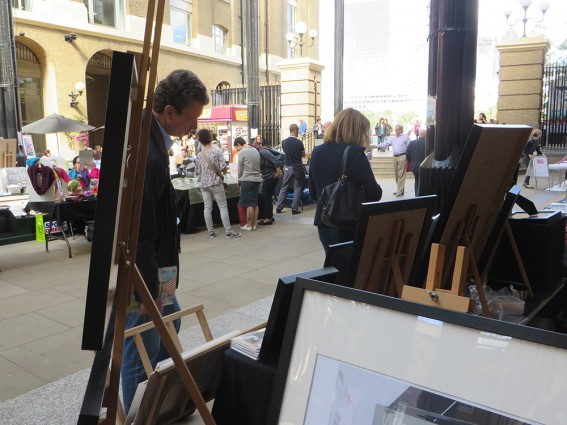 Southwark Art Fair Hays Galleria