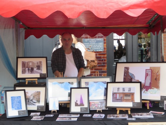 Richard Miller at Bermondsey Street Festival