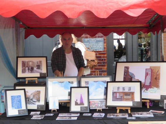 Richard Miller at Bermondsey Street Festival
