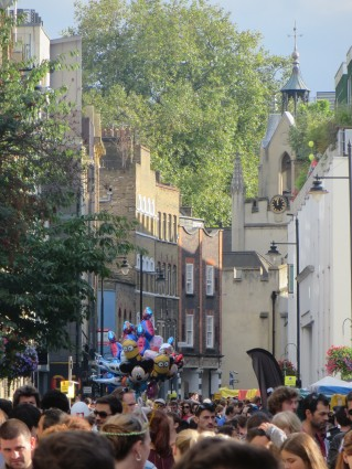 Bermondsey Street on Festival day