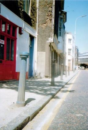 Bermondsey Street in 1990