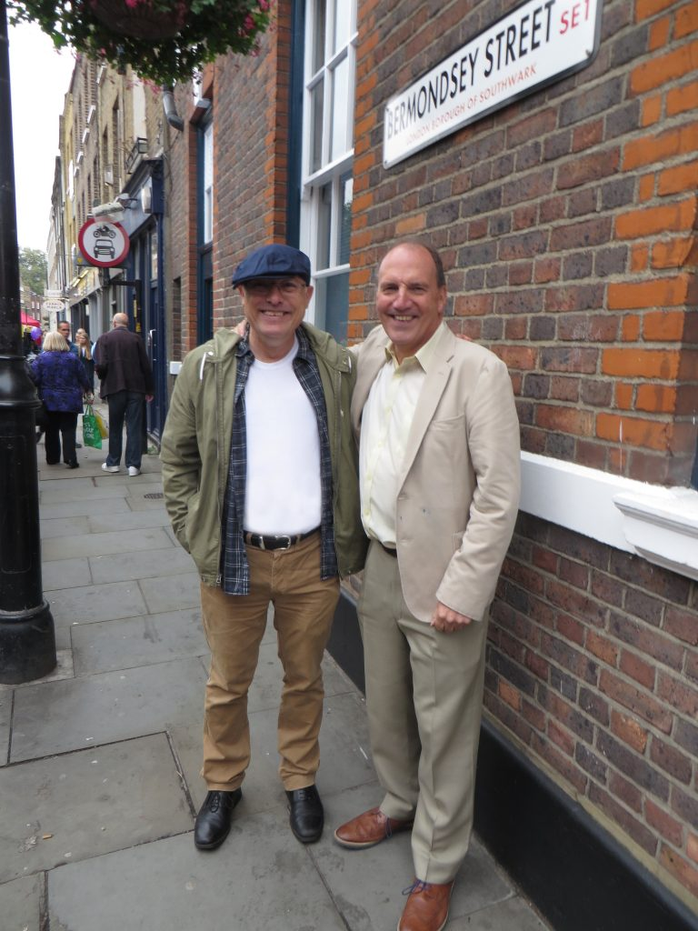 Richard Miller and Sir Simon Hughes, Bermondsey St Festival 2016