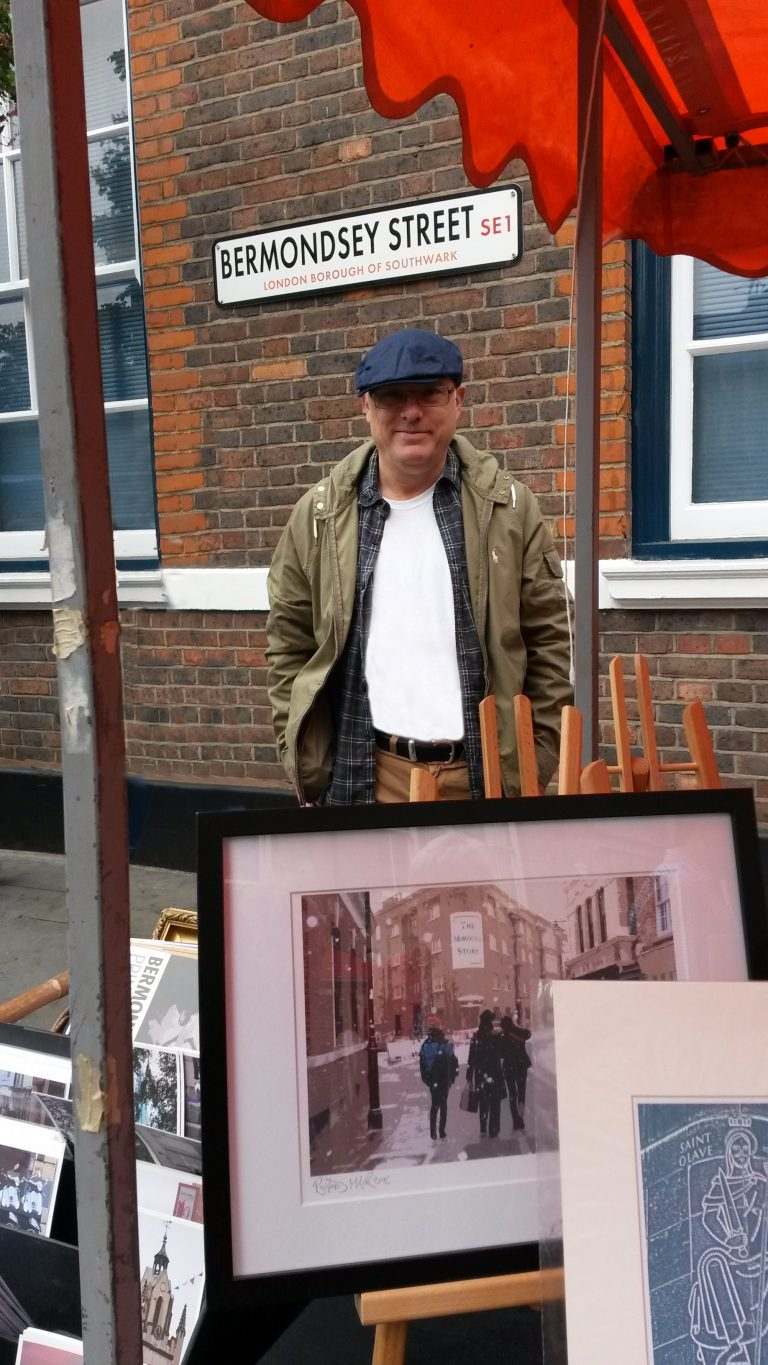 Richard Miller at the Bermondsey Street Festival