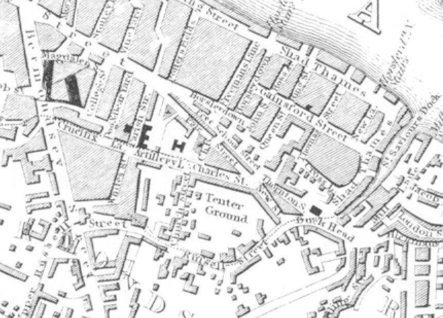 Russell Street 1832