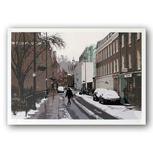 Bermondsey Street South Framed