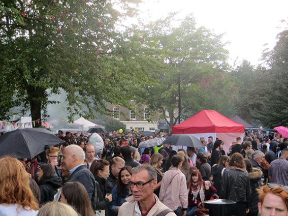 Tanner Street Park, Bermondsey Street Festival 2017