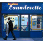 Long Lane Launderette by Richard Miller