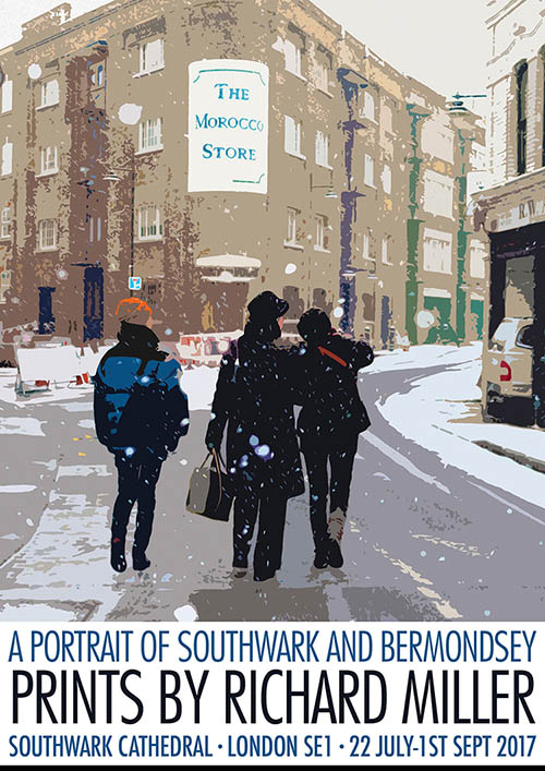 A Portrait of Southwark and Bermondsey Poster