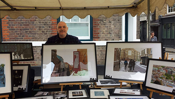 Richard at the Bermondsey Street Festival