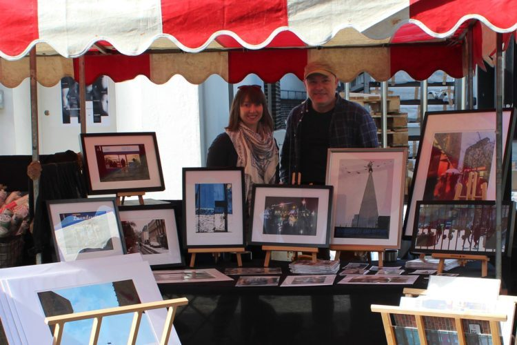 Richard and Sarah Miller at 2018 Bermondsey Street Festival