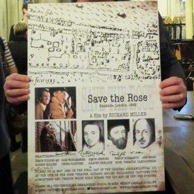 Save the Rose Poster