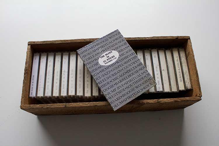 The Blues Box by El Sticks Vol 1-21